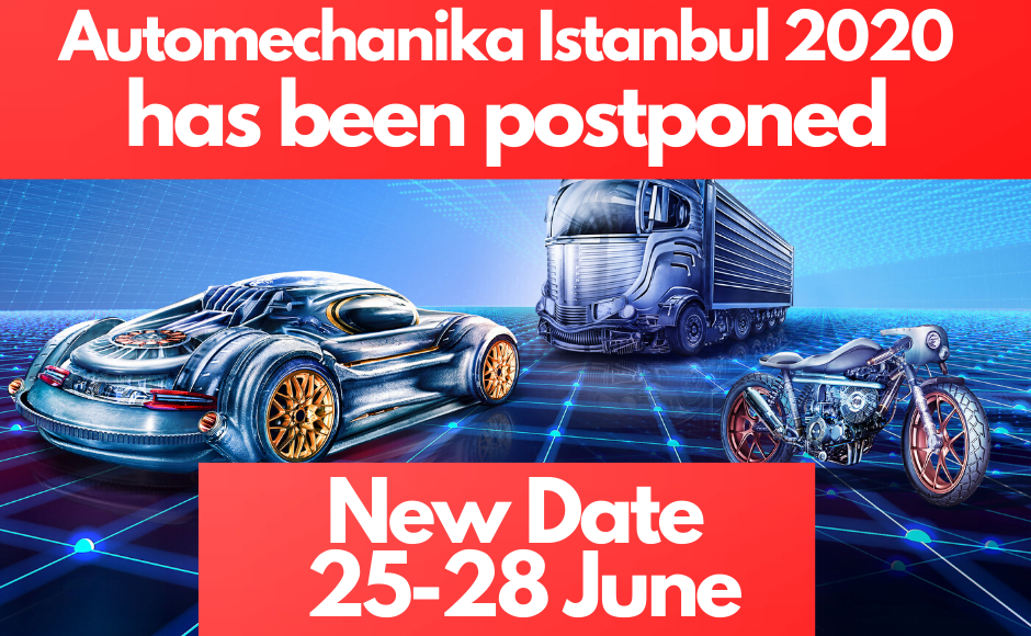 Automechanika Istanbul 2020 Ertelendi!