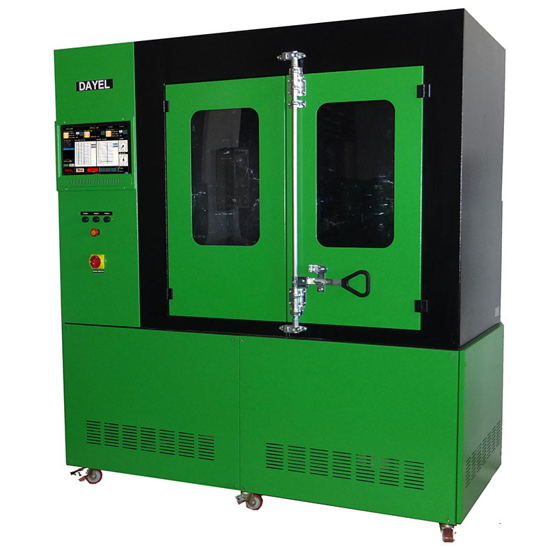 particulate filter cleaning machine