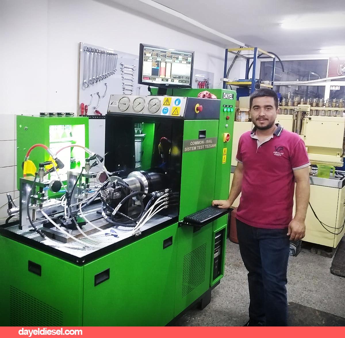 Antalya Vurallar Pompa DAYEL DIESEL Test Makinesi Kurulumu