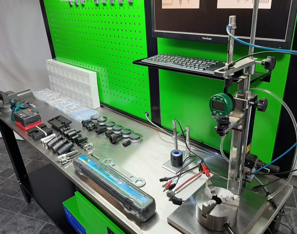 diesel injector training Diesel Test Benches, Tools, Equipments