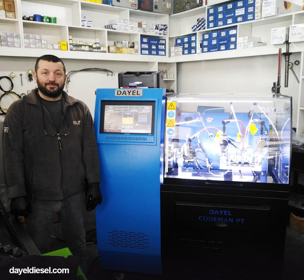 yildizlar pompa trabzon Diesel Test Benches, Tools, Equipments