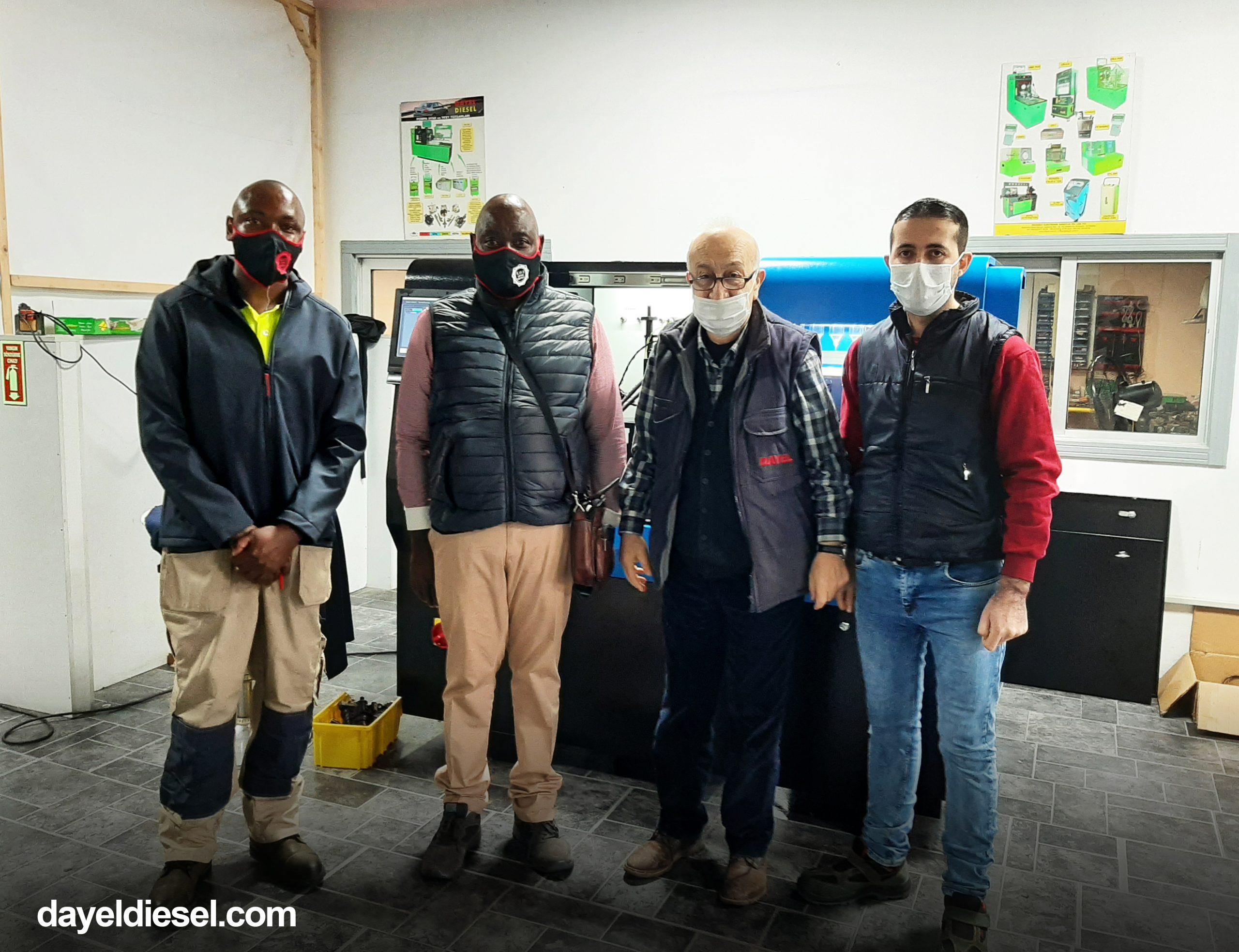 Zambiya'lı Müşterilerimiz Birim Enjektör Eğitimi Gördü!