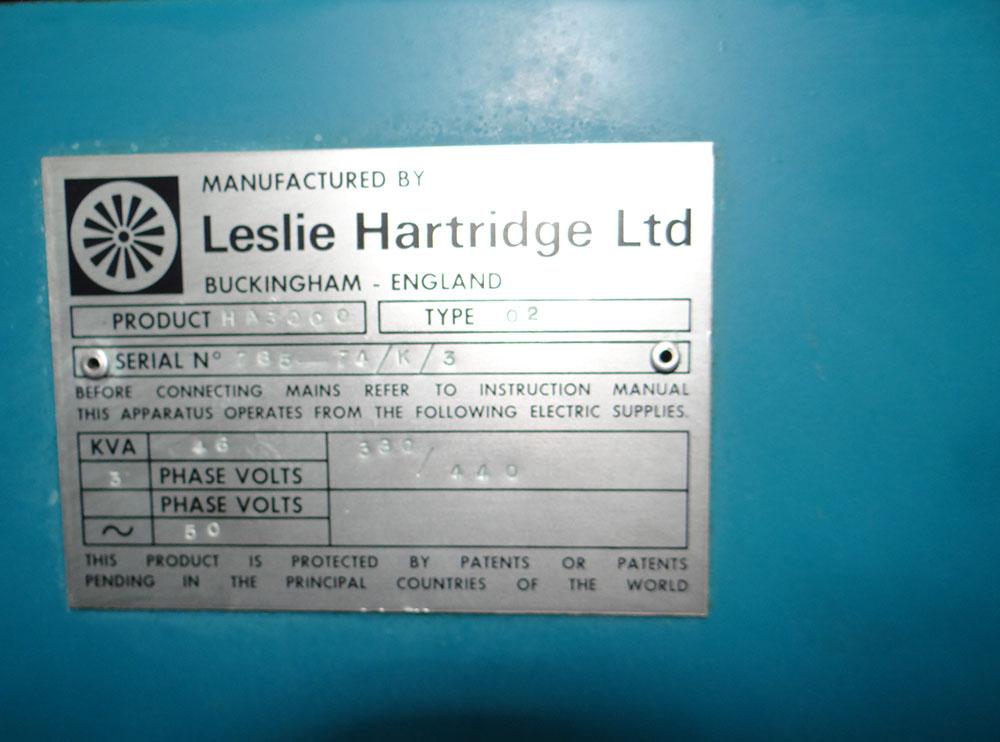 Hartridge Used Diesel Test Machine